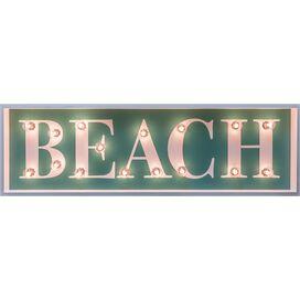 Beach Marquee Sign
