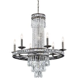 Mercer Chandelier in English Bronze