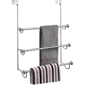 3-Tier Over-Door Towel Rack