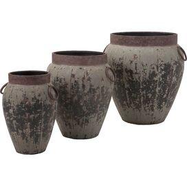 3-Piece Argetile Planter Set