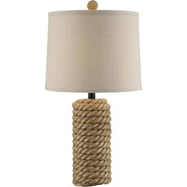 Logan Rattan Table Lamp