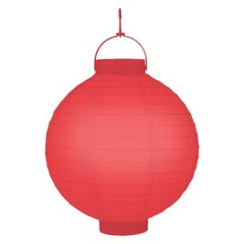 Avia Paper Lantern in Red (Set of 3)