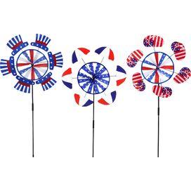 3-Piece Patriotic Spinner Set