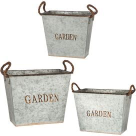 3-Piece Garden Planter Set