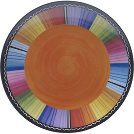 Serape Melamine Salad Plate (Set of 6)