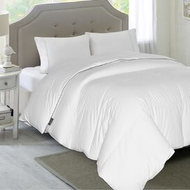 1200 Thread Count White Down Comforter