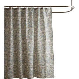 Laura Ashley Cotton Maiden Lane Shower Curtain