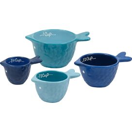 4-Piece Fish Measuring Cup Set