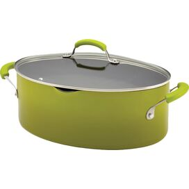 Rachel Ray 8-Quart Stock Pot in Green