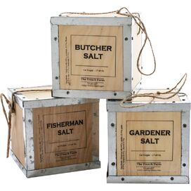 Infused French Sea Salt Rubs (Set of 3)