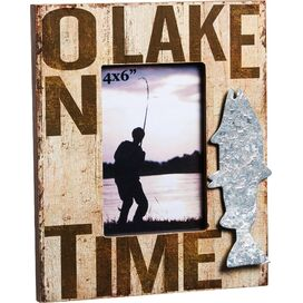 On Lake Time Picture Frame