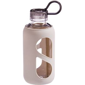 Silicone Water Bottle in Grey