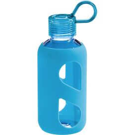 Silicone Water Bottle in Blue