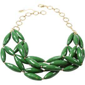Nathalie Necklace in Green