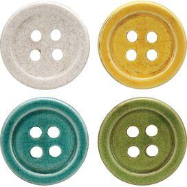 Button Coaster (Set of 4)