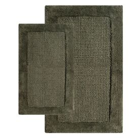 2-Piece Naples Bath Mat Set in Peridot