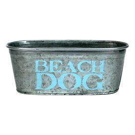 Beach Dog Storage Tub