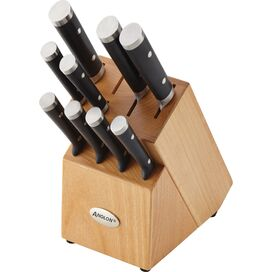 Anolon 11-Piece Japanese Stainless Steel Knife Set