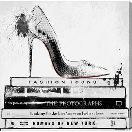Fashion Icons Canvas Print, Oliver Gal