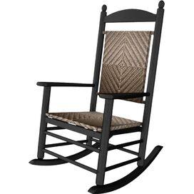 Everett Rocking Chair in Black & Cahaba