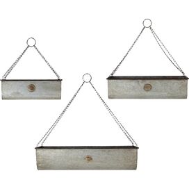 3-Piece Ezra Hanging Planter Set