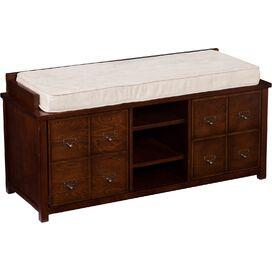 Grayson Apothecary Storage Bench