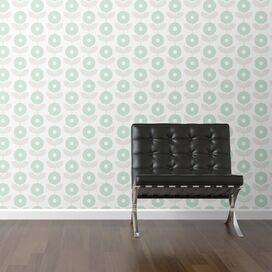 Mod Floral Removable Wallpaper