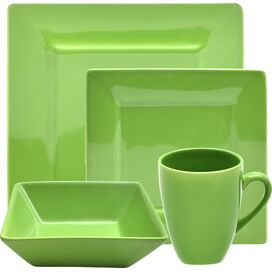 16-Piece Nadia Porcelain Dinnerware Set