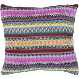 Mackenzie Pillow in Chocolate Burst (Set of 2)