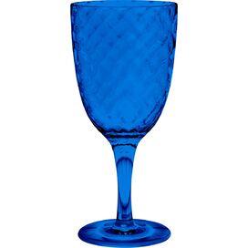 Azura Acrylic Wine Glass in Blue (Set of 6)