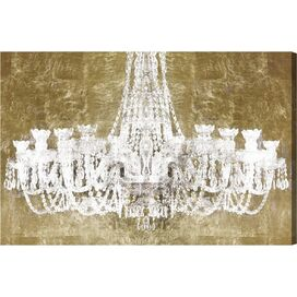 Shine Bright Like A Diamond Canvas Print, Oliver Gal