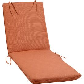 Neil Sunbrella Chaise Cushion in Papaya