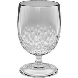 Cabo Acrylic Goblet in Clear (Set of 6)