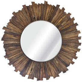 Kimber Reclaimed Wood Wall Mirror