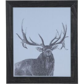 Elk Framed Wall Decor