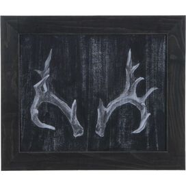 Antler Framed Wall Decor