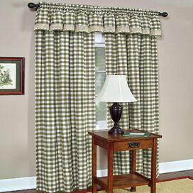 Buffalo Curtain Panel in Taupe