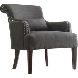 Arlington Arm Chair in Dark Gray