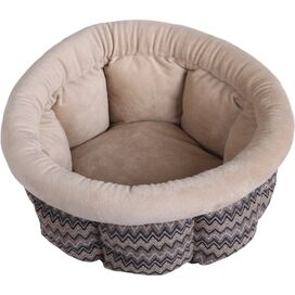 Cuddle Cup Pet Bed in Taupe