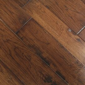 Engineered Hickory Flooring in Sienna