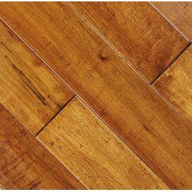 Solid Maple Flooring in Champagne