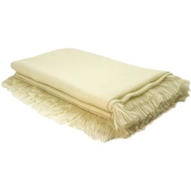 Giselle Throw in Creme