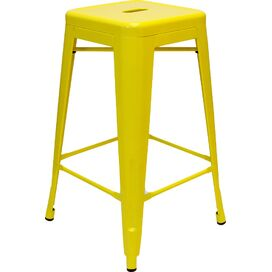 Galaxy Counter Stool in Yellow (Set of 2)