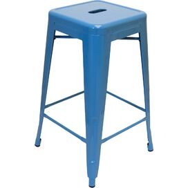 Galaxy Counter Stool in Blue (Set of 2)