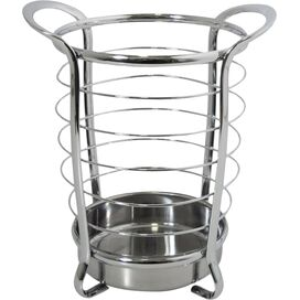 Steel Utensil Holder