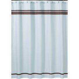 Ibiza Shower Curtain in Blue
