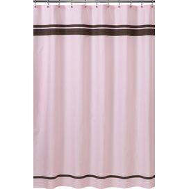 Ibiza Shower Curtain in Pink