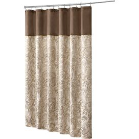 Aubrey Shower Curtain in Gold