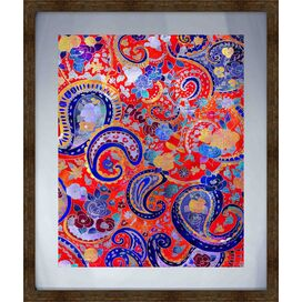 Gypsy Pattern Framed Giclee Print