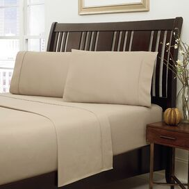 HygroSoft by Welspun 300 Thread Count Sheet Set in Sand